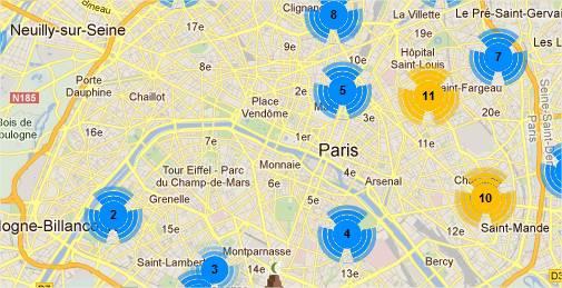 Trouver une mosquée grâce à la carte de France des mosquées