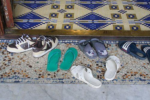 mosquée pied