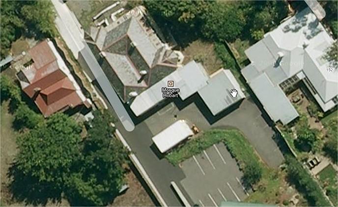 mosque tasmania