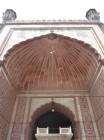 Jama Masjid le dôme de la porte
