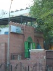 mosquee-west-delhi-porte