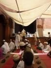 jama masjid imam vue de dos