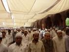 jama masjid - la priere commence