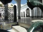 la cour intérieur mosquee idriss