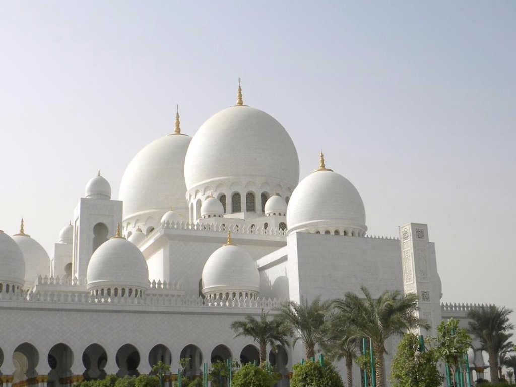 La mosquée d'Abu Dhabi sur 360°