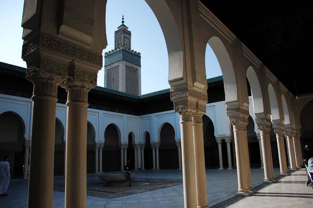 Iftar à la Grande mosquée de Paris