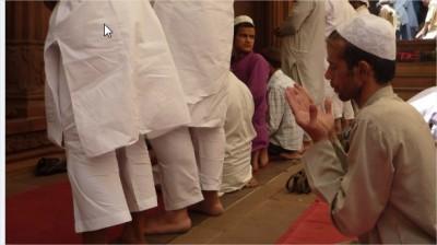 invocation d'un musulman indien