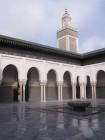 intérieur mosquée de paris