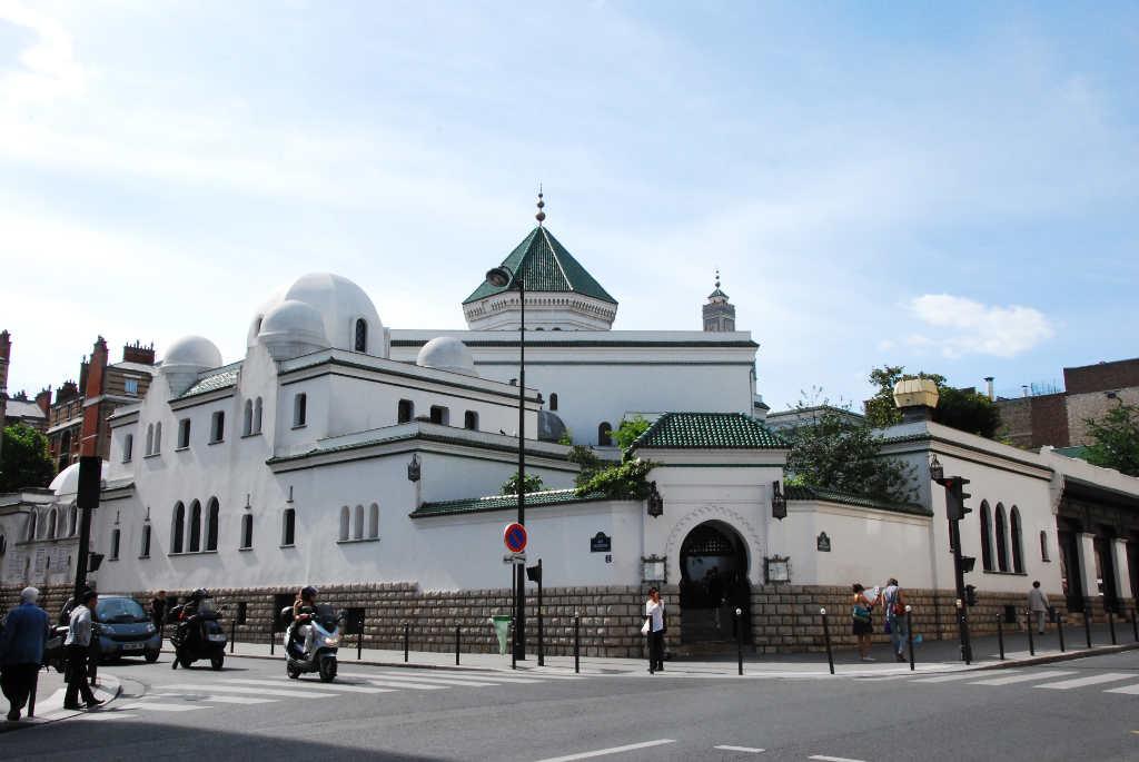 mosquée de paris face
