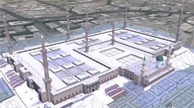 mosquée al nabawi w1024 h1024 400x224 Les mosquées en 3D