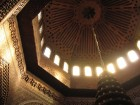 mosquée de paris intérieur en bois