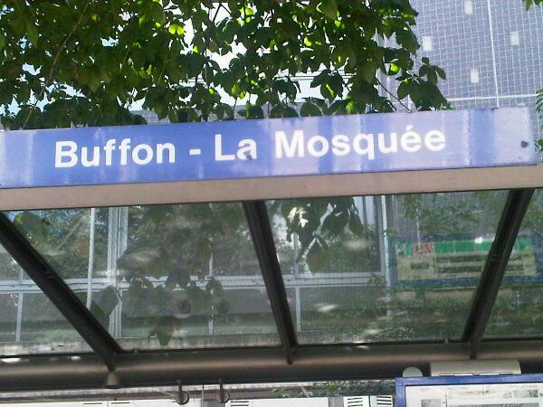 arret de bus bouffon - La mosquée