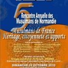5e rencontre annuelle des musulmans de normandie