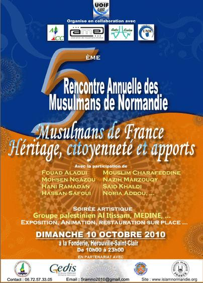 Rencontre musulmans france 2016