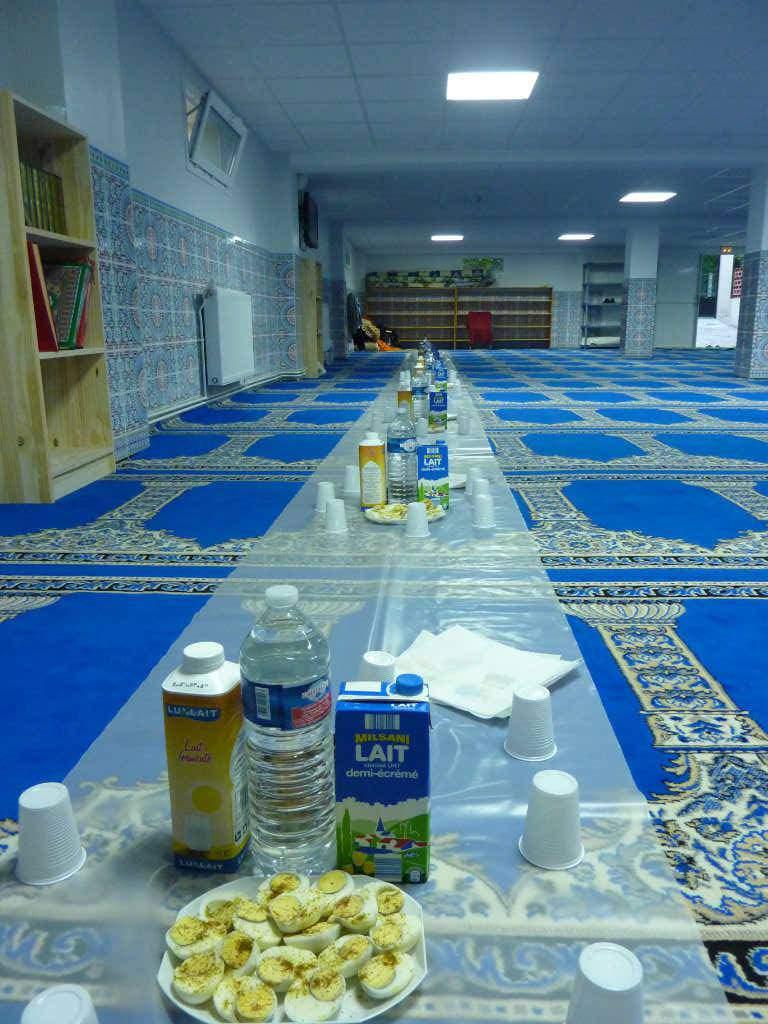 Rupture du jeûne à la mosquée de Vigneux-sur-Seine