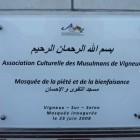 plaque 140x140 La grande mosquée de Vigneux sur Seine