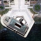 mosquée hassan 2 vue du ciel