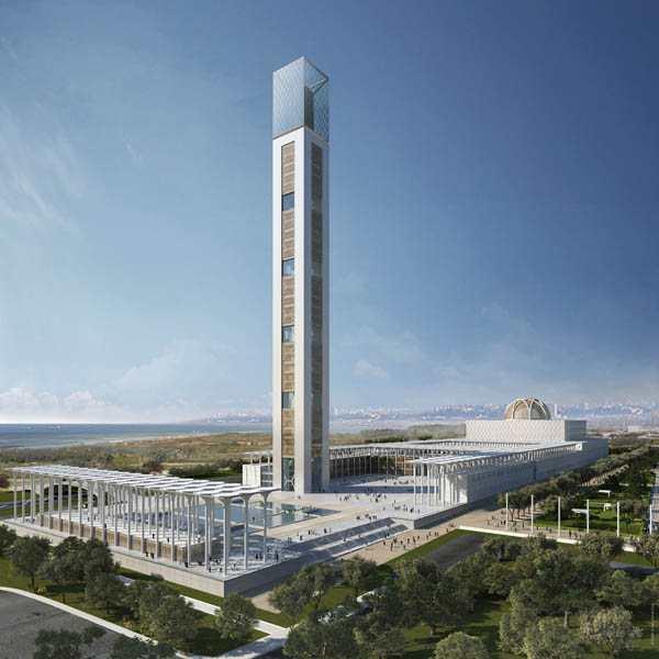 Qui construira la grande mosquée d'Alger ?