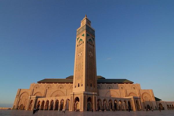 Les cinq plus grandes mosqu es du monde trouve ta mosqu e for Mosquee hassan 2 architecture