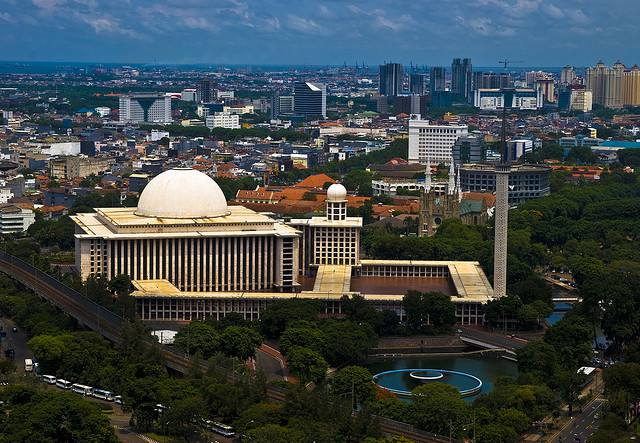 Istiqlal Mosque ensemble