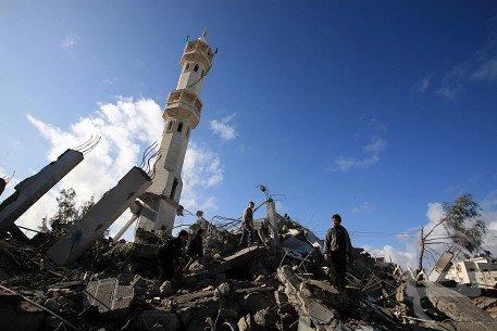 Israël rase les mosquées