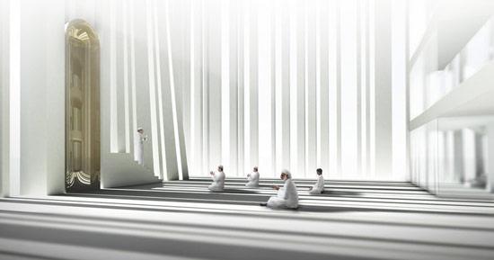 Une mosquée pour les villes