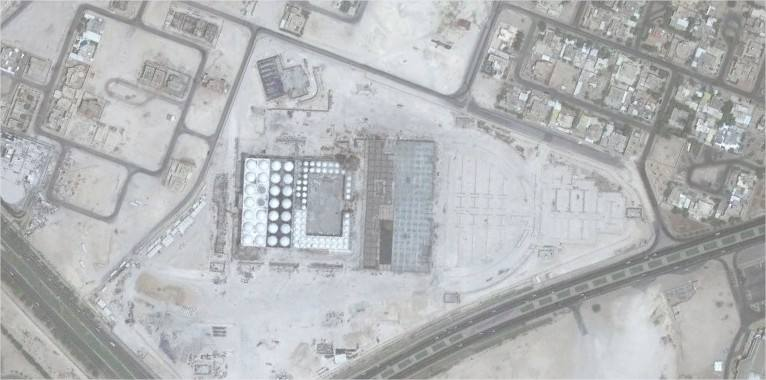 Google Earth mosque doha
