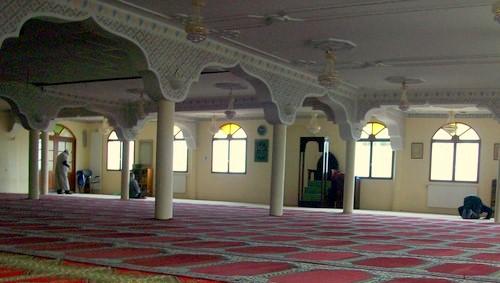 La mosquée du ministère des affaires étrangères est fermée.