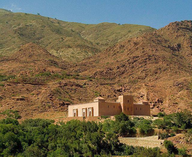 Tinmel: la mosquée de l'Atlas