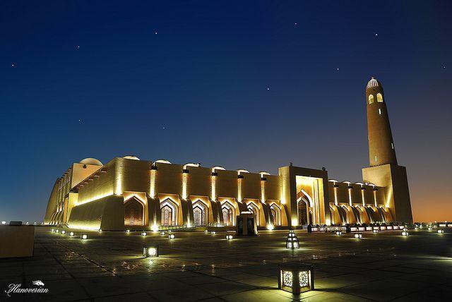La grande mosquée de Doha, Qatar