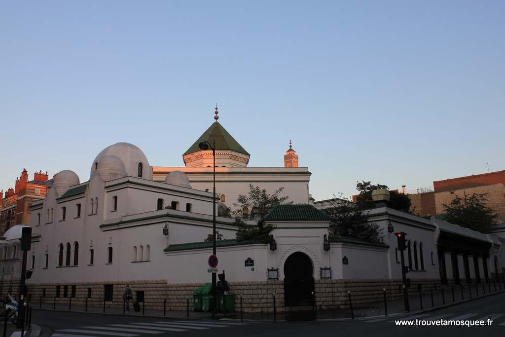 La grande mosquée de paris Façade