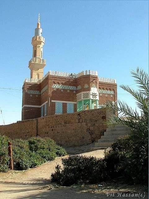 Mosquee de Al Kurru du Nord du Soudan