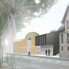 Maquette de la future mosquée Robertsau Strasbourg