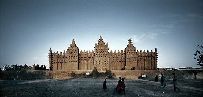 La Grande mosquée de Djenné, Mali