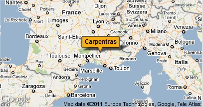 la carte de carpentras