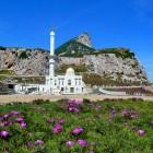 Mosquée sur le rocher de Gibraltar