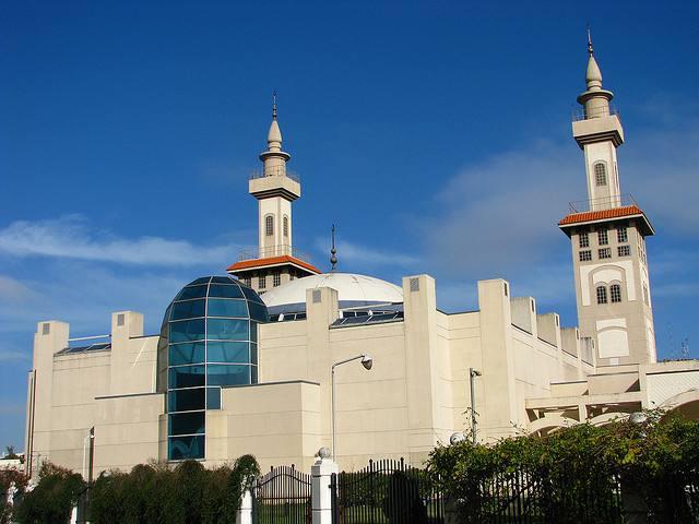 Mosquée de Buenos aires Argentine avec deux minarets