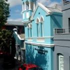Mosquée bleu ciel à Cape Town Afrique du Sud