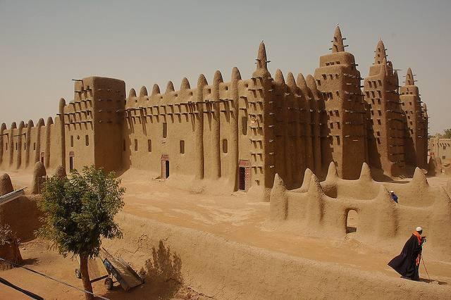 mosquee djenne en mali