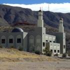 Mosquée au milieu du désert à El Paso