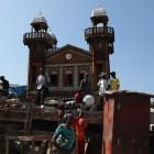 Mosquée à Haïti aprés le tremblement de terre