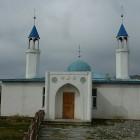 Mosquée en Mongolie avec deux Minarets