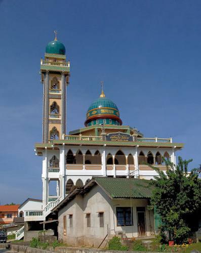 Une mosquée à Patong en Thaïlande