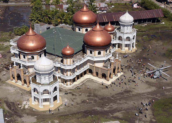 Mosquée aprés le Tsunami