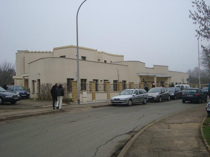 Joumou'a mosquée de plaisir entrée
