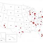 carte des actes islamophes aux Etats Unis