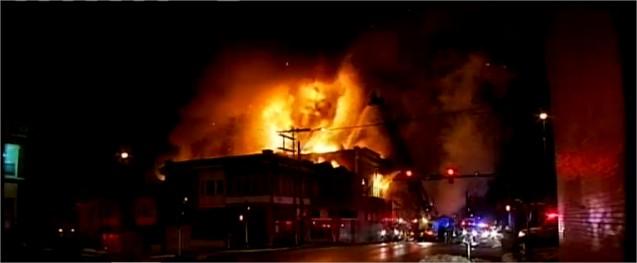 Mosquée du Kansas en feu