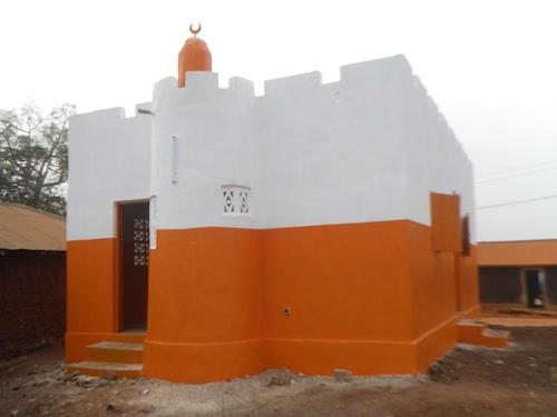 Mosquée construite au Togo - Projet 99