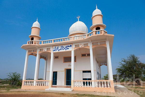Une Mosquée du Cambodge