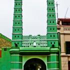 Mosquée avec deux minarets à singapore